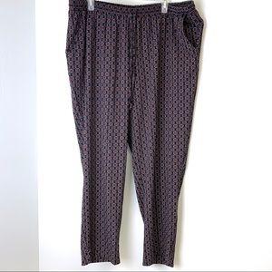 Lane Bryant Skinny Leg Loose Fitting Trouser Pant